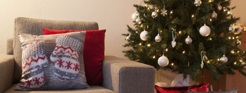 Christmas decorative cushion